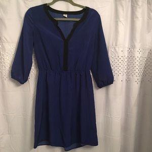 Natural waist line dress